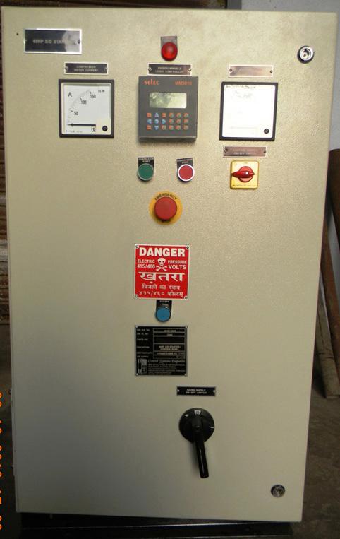 Compressor Control Panel Compressor Panel Oem Manufacturer